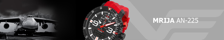 pánské hodinky Vostok-Europe AN-225 MRIJA automatic chrono line NE88 5555237 fe7b5949801