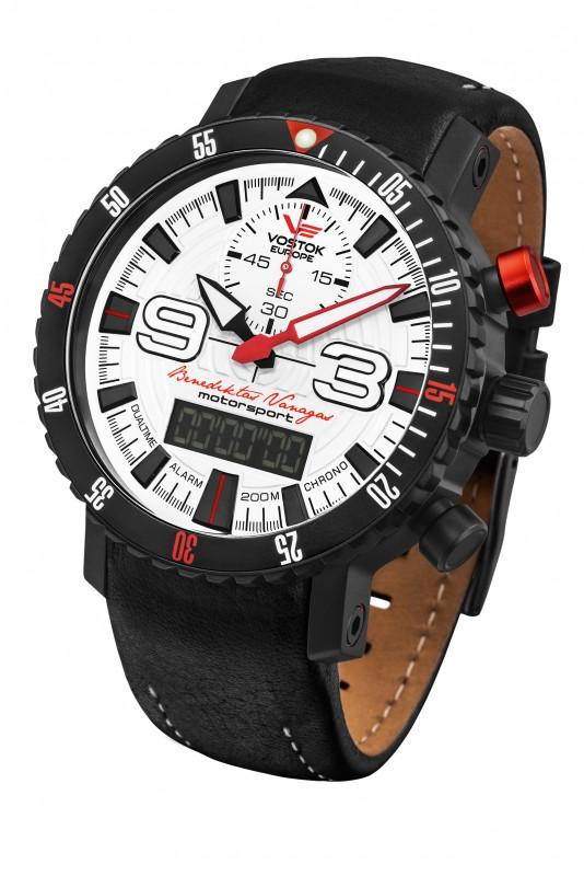 pánské hodinky Vostok-Europe Benediktas Vanagas white edition 9516 5554355 148fabf6f09