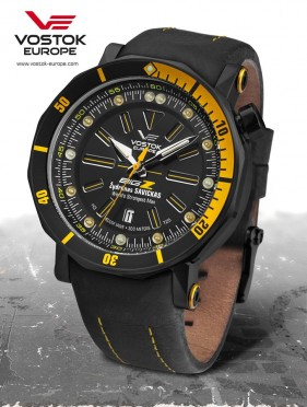 limitovaná edice Vostok-Europe BIG-Z black edition NH35A/6204344